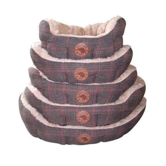 Country Pet Luxury Tweed Dog Bed