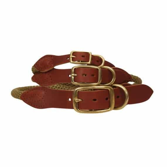 Luxury RolledLeather Collar