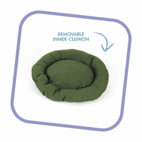 Donut Dog Bed By Beco