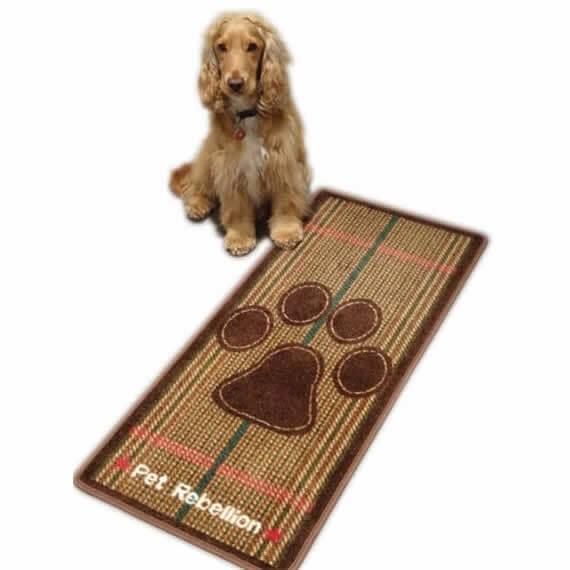 Tweed Dog Runner Mat By Pet Rebellion
