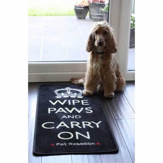 Dog Runner Mat By Pet Rebellion