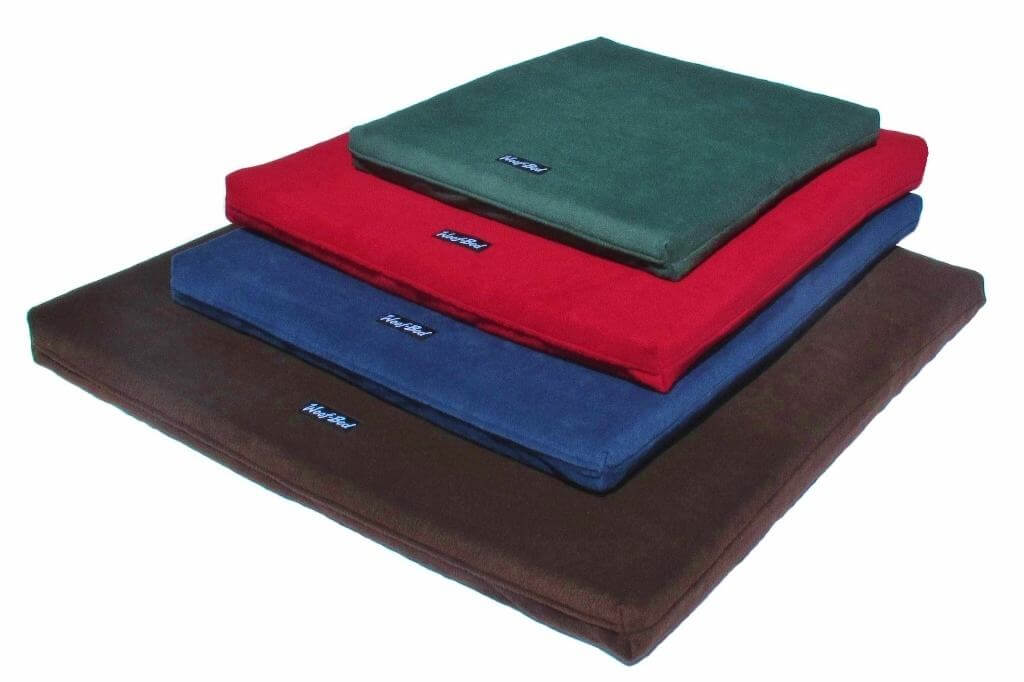 woof bed memory foam dog bed mattress paws plus one. Black Bedroom Furniture Sets. Home Design Ideas