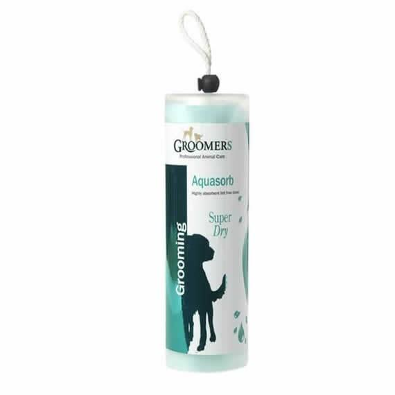 Groomers Aquasorb Super Absorbent Dog Towel