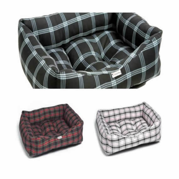 Tartan Dog Bed Country Style