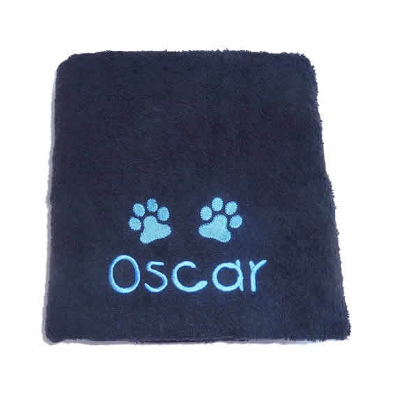 Personalised Dog Drying Towel