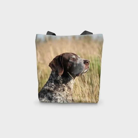 Canvas Printed Pointer Gun Dog Bag