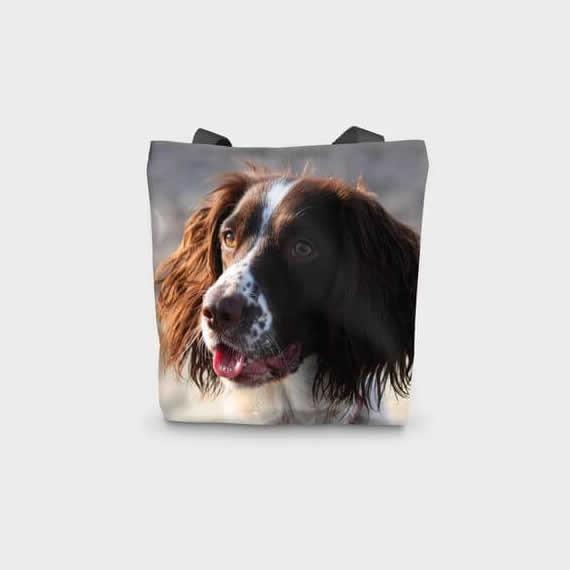 Canvas Cotton Printed Spaniel Gun Dog Bag