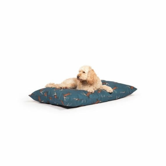 Animal Printed Woodland Danish Design Dog Couches   Luxury Dog Beds