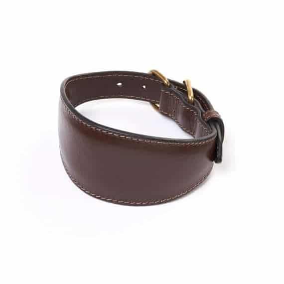 Leather Greyhound Collars – Whippet Collars UK