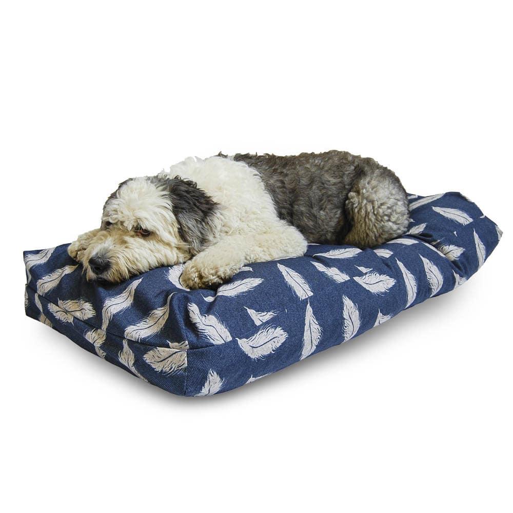 Retreat Wellness Navy Feather Duvet – Danish Design Dog Bed