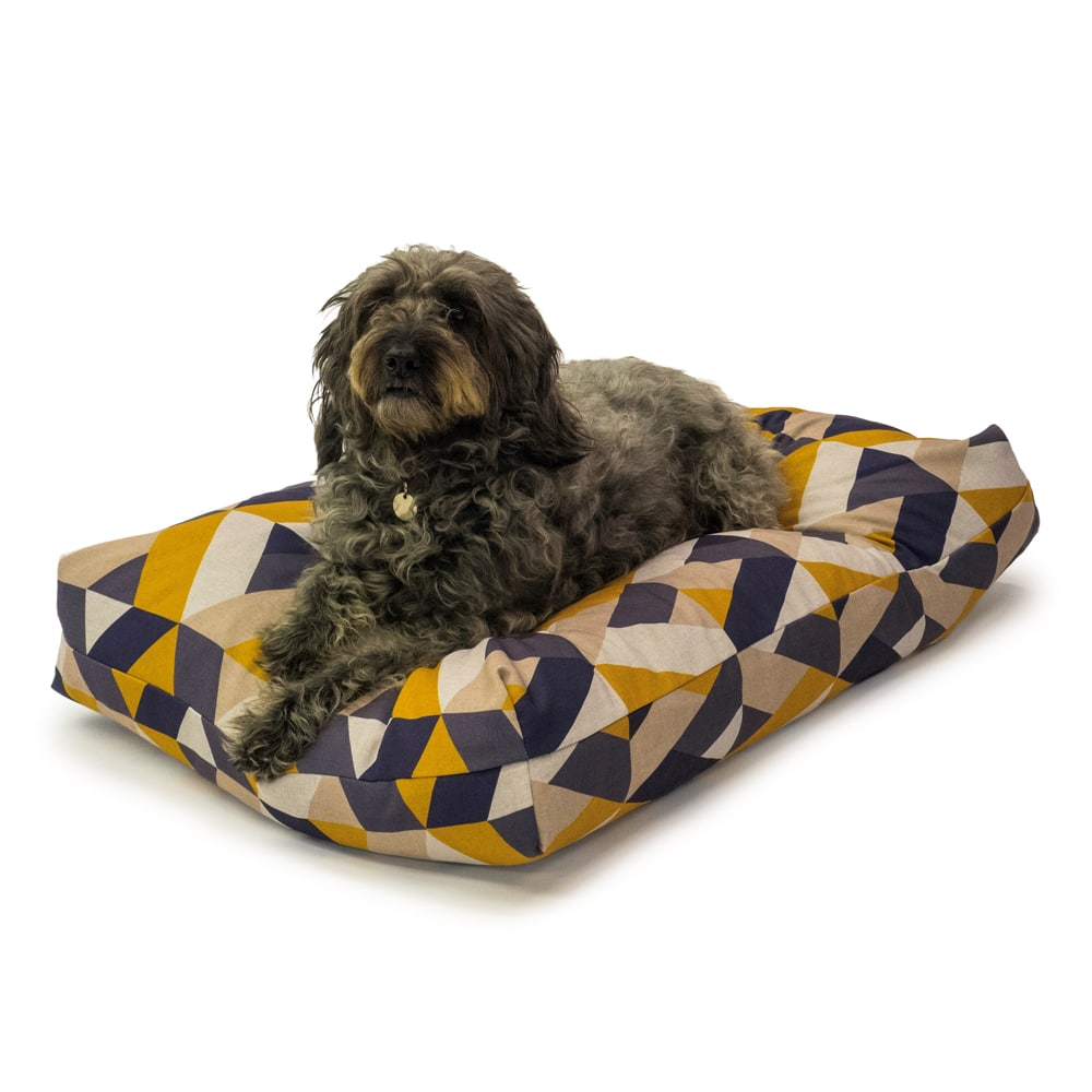 Memory Foam Duvet – Retreat Wellness Geo Tile Danish Design Dog Bed