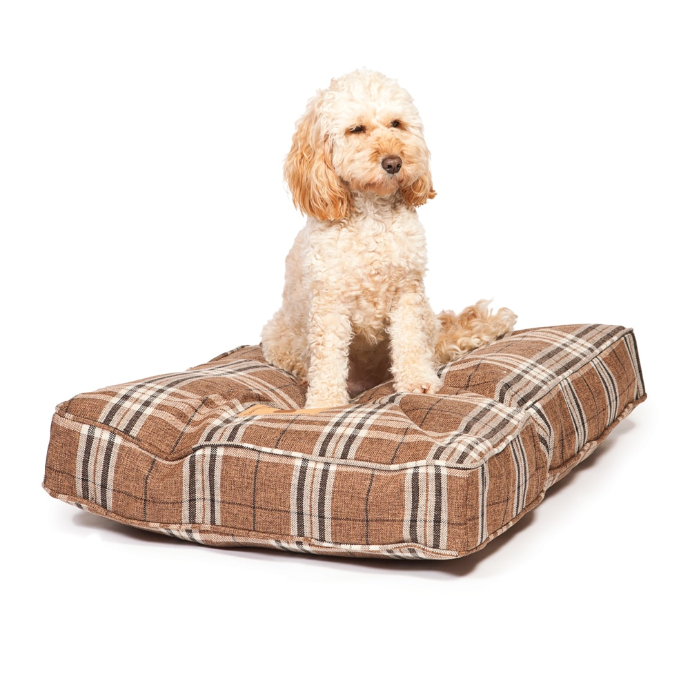 Newton Dark Beige Quality Dog Bed Mattress – Danish Design Beds
