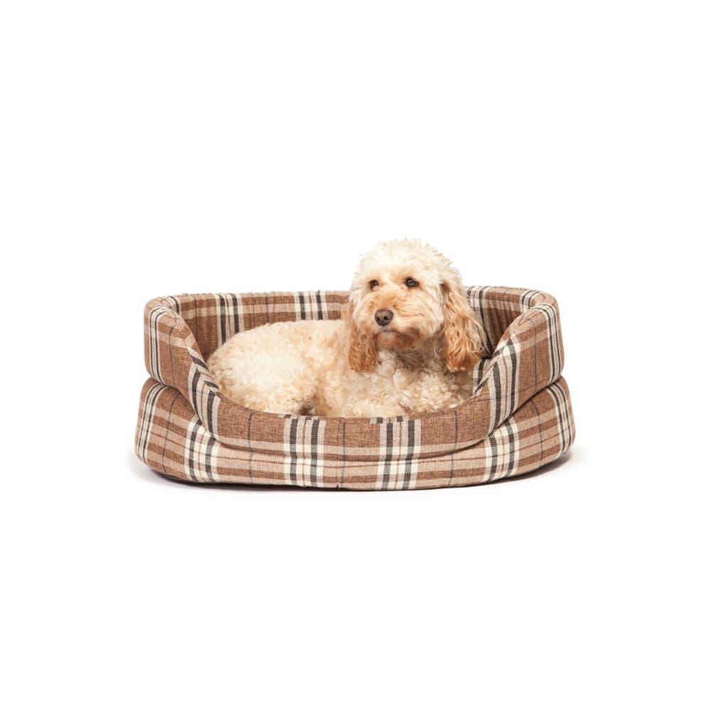 Round Newton Truffle Slumber Pet Bed – Danish Design Dog Beds