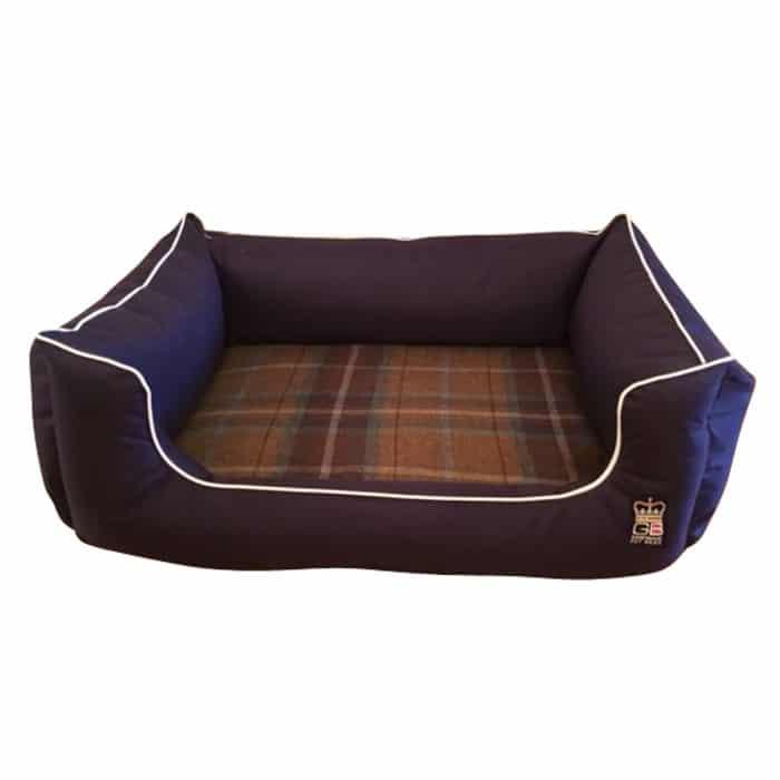 dreamer memory foam dog bed blue